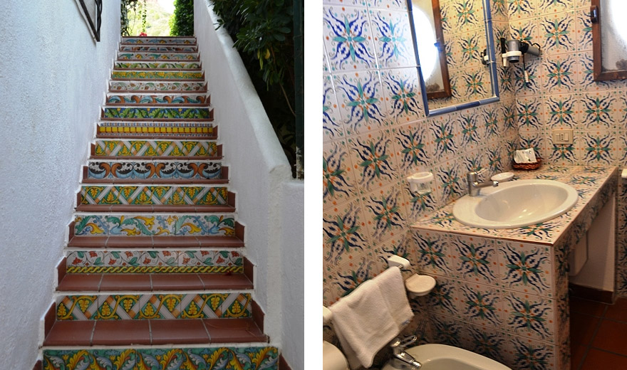 Hotel bellavista for Ceramica bellavista